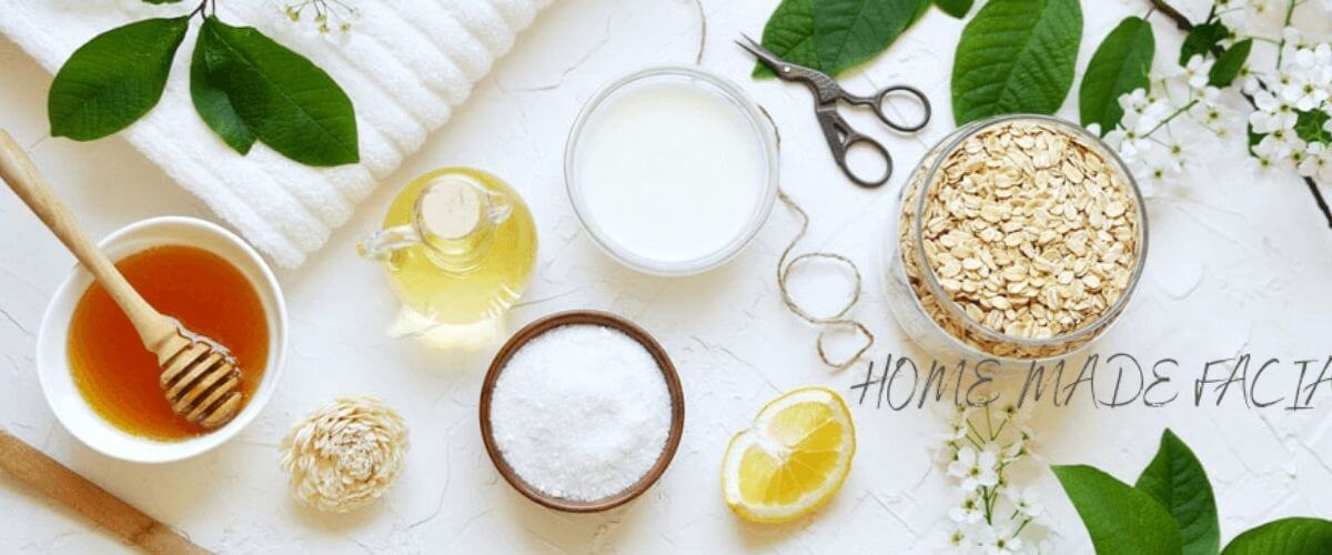 HOME MADE FACIAL